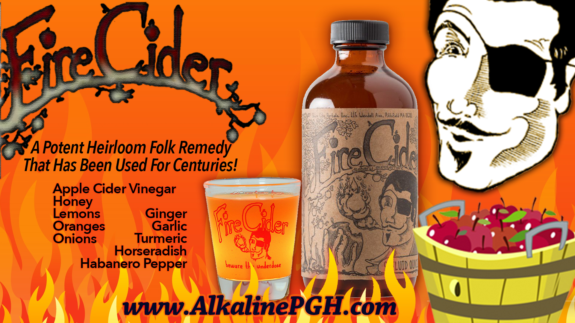 Fire Cider Organic Health Remedy