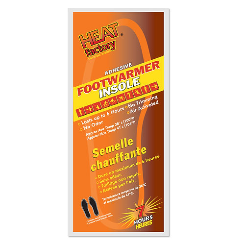 Footwarmer Insole - Heat Factory