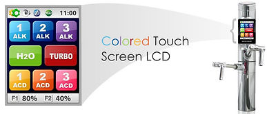 tyent under-counter uce color screen digital touch