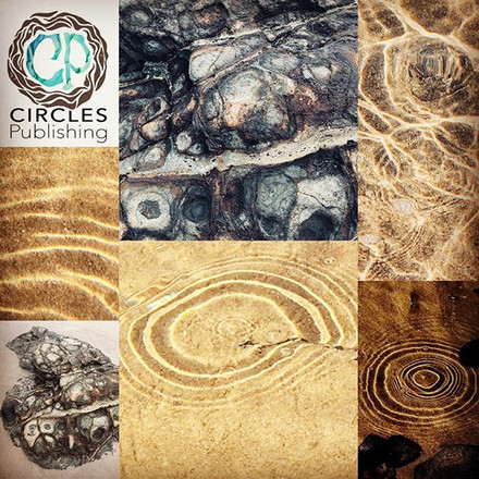 Circles Publishing logo inspired by circles in nature #circlespublishing #connectionswithnature #circles #independentlabel #ecofriendly #chi