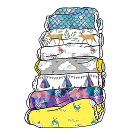reusable nappy illustration
