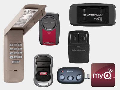 garage door openers, garage door keypads, garage door remotes, hickory, nc
