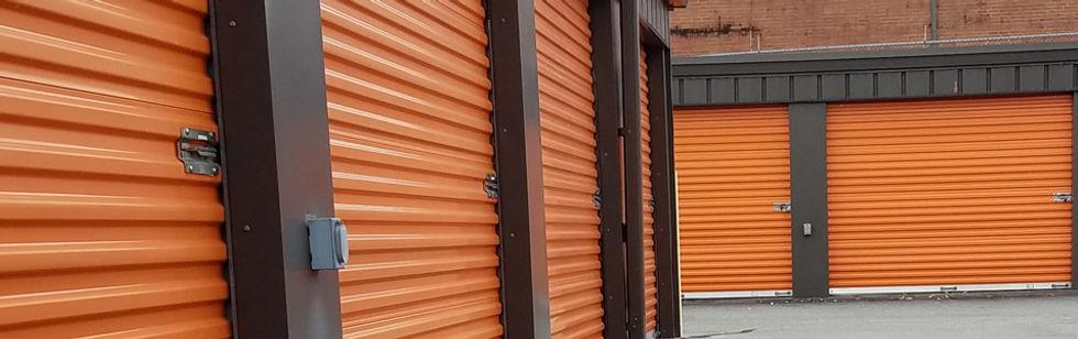 mini warehouse doors, storage facility doors, hickory nc