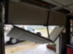 Garage door parts in Hickory, NC.