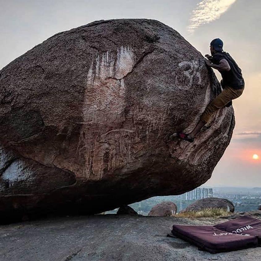 Beginner's Rock Climbing at Khajaguda
