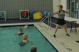 aquatic fitness class