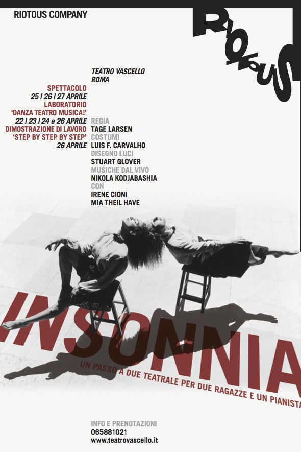 Insonnia poster by Pentagram