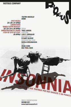 Insonnia poster by Pentagram