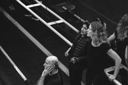Marcello Magni, Kathryn Hunter, Mia Theil Have, photo Dan Fearon