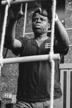 Femi Elufowoju, jr, photo Dan Fearon