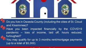 Osceola Rent/Mortgage Assistance