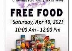 Next Food Pantry April 10th 2021 at 10 AM - 12 PM.