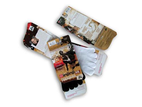Injinji Sock Packaging