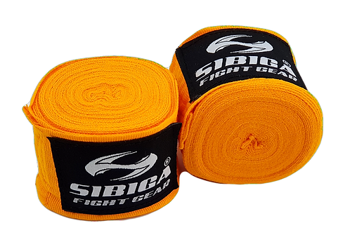 2.5 Metres Long Kids Elastic Hand Wrap-Orange