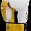 Thumbnail: Leather Boxing Gloves White/Gold