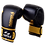 Thumbnail: Leather Boxing Gloves -Black/Gold