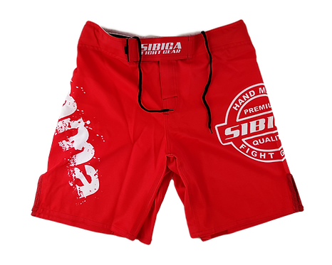 MMA Shorts-Red