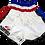 Thumbnail: Muay Thai Shorts-Thai Flag Colours