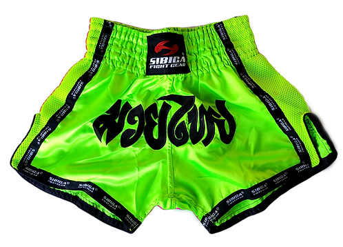 Thai Shorts-Lime Green