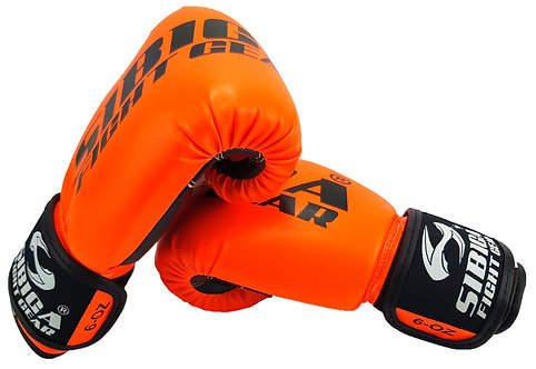 Boxing Gloves-Fluorescent Orange