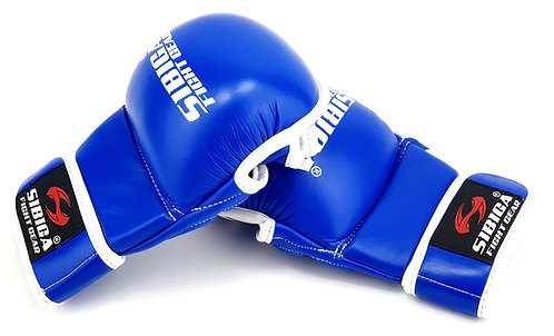 MMA Sparring Gloves-Blue