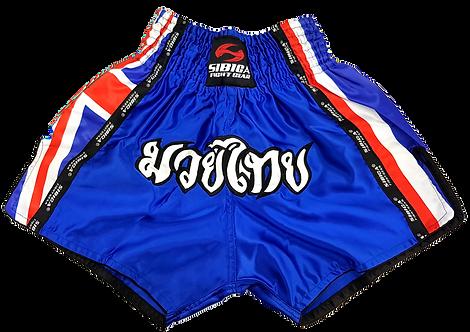 Muay Thai Shorts-Blue