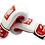 Thumbnail: Leather Boxing Gloves-White/Red Poland