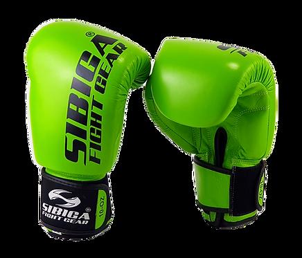 Leather Thai Gloves-Green