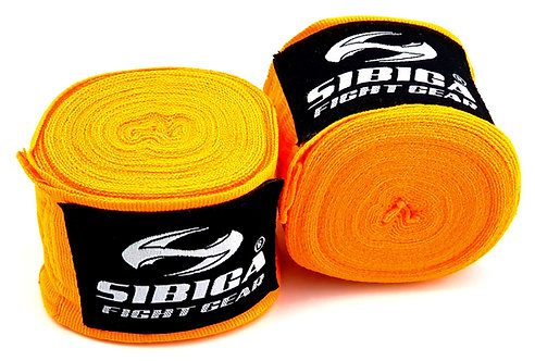 5 Metres Long Elastic Hand Wraps-Orange