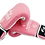 Thumbnail: Leather Boxing Gloves-Pink/White