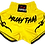 Thumbnail: Muay Thai Shorts-Yellow
