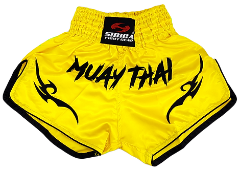 Muay Thai Shorts-Yellow