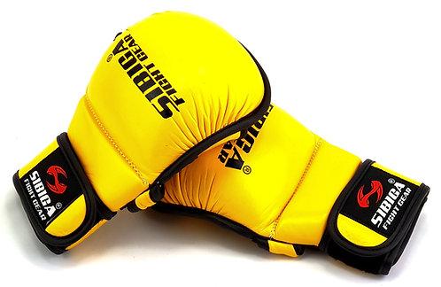 MMA Gloves-Yellow