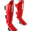 Thumbnail: Leather Shin Guards-Red
