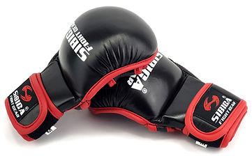 SIBIGA MMA GLOVES BLACK