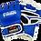 Thumbnail: 7oz Leather MMA Semi Pro Gloves-Blue