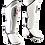 Thumbnail: Leather Shin Guards-White