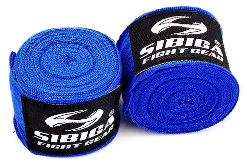 5 Metres Long Elastic Hand Wraps-Blue