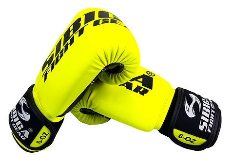 Boxing Gloves-Fluorescent Yellow