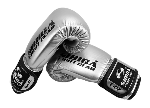 Kids Boxing Gloves-Silver