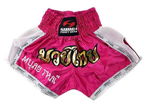 Thai Shorts-Pink