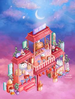 Gu&Bu's Night Market