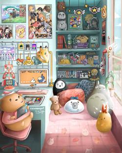Gu&Bu's Dream Room