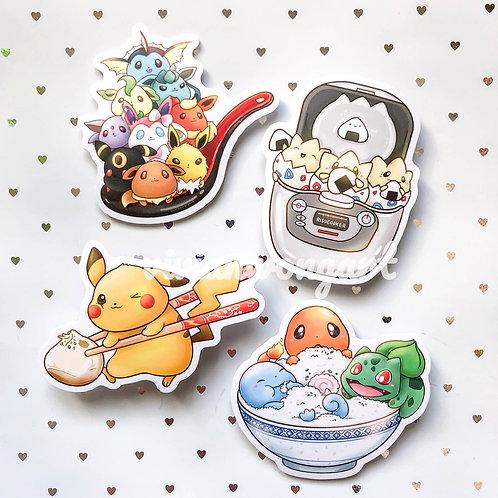 pokemon x asian utensils