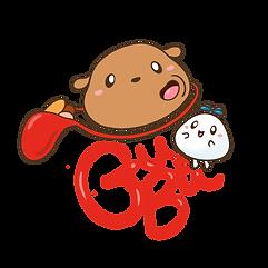 gu and bu logo vivian wong art