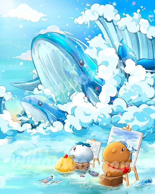 Gu and Bu Whale Watching
