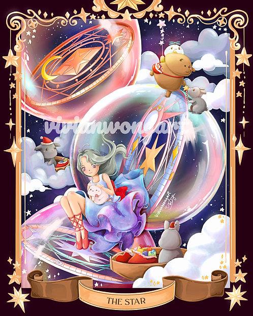 gu and bu's tarot card [mini]