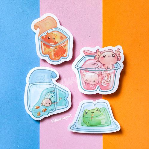 Aqua Babies Jelly Sticker Pack