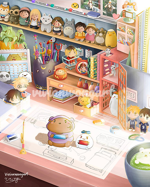 gu and bu's anime desk