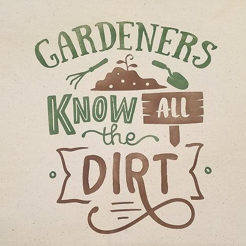 Gardener Pride Canvas Totes